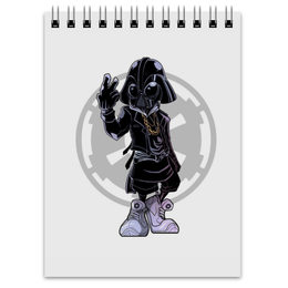 "Блокнот ""Swag Vader"" - swag, звездные войны, свэг, дарт вейдер, стар варс"