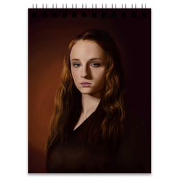 "Блокнот ""Санса Старк"" - игра престолов, game of thrones, санса старк, sansa stark, winter is coming"
