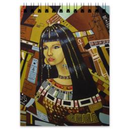 """Блокнот """"Клеопатра"""" - рисунок, египет, клеопатра"""