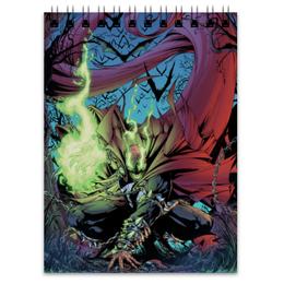 """Блокнот """"Спаун (Spawn)"""" - комиксы, спаун, spawn, image comics"""
