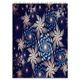 """Блокнот """"Без названия"""" - цветы, узор, природа, цветочки, кактусы"""