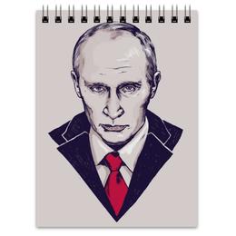 """Блокнот """"Путин"""" - страна, портрет, россия, политика, путин, президент, putin"""