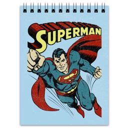 "Блокнот ""Супермен"" - супермен, комиксы, superman, супергерои"
