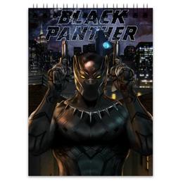 """Блокнот """"Черная пантера"""" - комиксы, пантера, марвел, black panther"""