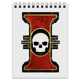 """Блокнот """"Инсигния"""" - warhammer 40k, инсигния, инквизиция, империум, император человечества"""