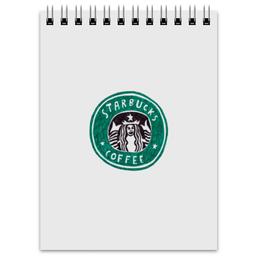 "Блокнот ""Starbucks "" - еда, мода, кофе, starbucks, старбакс"