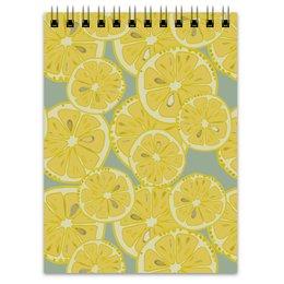 """Блокнот """"лимоны"""" - лето, фрукты, лимон, лимоны, цитрусовые"""
