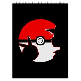 "Блокнот ""Покемоны"" - пикачу, эш, pikachu, ash, pokemon go"