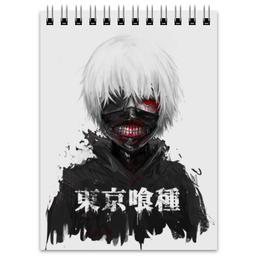 """Блокнот """"Токийский гуль"""" - аниме, манга, токийский гуль, tokyo ghoul, кен канеки"""