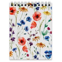 """Блокнот """"Полевые цветы"""" - красиво, цветы, природа, полевые цветы"""