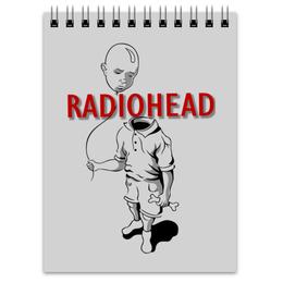 """Блокнот """"Radiohead"""" - музыка, рок, группы, radiohead"""