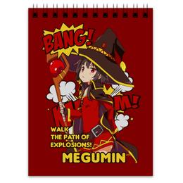 """Блокнот """"Мегумин"""" - аниме, манга, konosuba, коносуба, коносуба мегумин"""