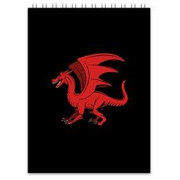 """Блокнот """"дракон"""" - крылья, животные, дракон, dragon, динозавр"""