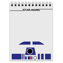 "Блокнот ""R2D2."" - star wars, звездные войны, r2d2, дроид, р2д2"