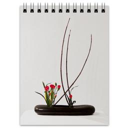 "Блокнот ""Икебана / Ikebana"" - цветы, япония, натюрморт, икебана, ikebana"
