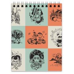 """Блокнот """"животные"""" - музыка, хэллоуин, смешные, животные, мульт"""