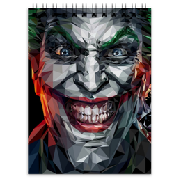 "Блокнот ""Джокер"" - джокер, бэтмен, комиксы, dc comics, joker"