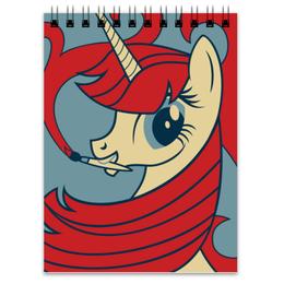 "Блокнот ""My Little Pony"" - арт, рисунок, дизайн, my little pony, графика"
