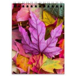 """Блокнот """"Осень"""" - осень, краски осени, золотые деревья, тёплая осень, что такое осень"""