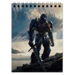 """Блокнот """"Трансформеры"""" - трансформеры, transformers, роботы, фантастика, автоботы"""
