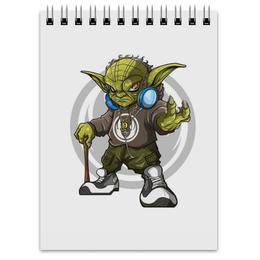 "Блокнот ""Swag Yoda"" - star wars, звездные войны, свэг, стар варс, магистр йода"