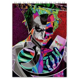 "Блокнот ""Джокер"" - джокер, бэтмен, комиксы, batman, joker"