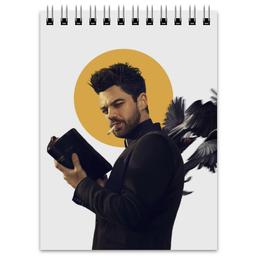 """Блокнот """"Пастырь"""" - комиксы, dc comics, preacher, проповедник"""