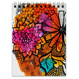 """Блокнот """"Оранжевое настроение"""" - праздник, хэллоуин, новый год, 8 марта, купить подарок"""