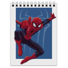"""Блокнот """"Spiderman"""" - рисунок, marvel, spiderman, человек-паук"""