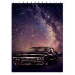 """Блокнот """"Машина"""" - space, космос, машина"""