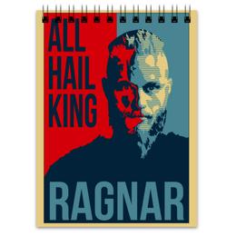 "Блокнот ""Викинги. Рагнар."" - викинги, vikings, путь воина, рагнар, ragnar"