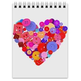 """Блокнот """"День всех влюбленных"""" - любовь, день святого валентина, валентинка, i love you, день влюбленных"""