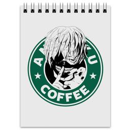 "Блокнот ""Антейку. Токийский гуль"" - аниме, манга, токийский гуль, tokyo ghoul, антейку"