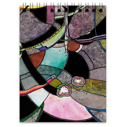 """Блокнот """"Акварельная абстракция"""" - арт, космос, краски, абстракция, акварельэ"""