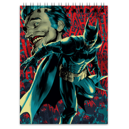 "Блокнот ""Бэтмен"" - комиксы, batman, джокер, бэтмен, dc comics"