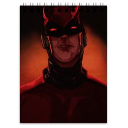 """Блокнот """"Сорвиголова (Daredevil)"""" - комиксы, марвел, дардевил, daredevil, сорвиголова"""