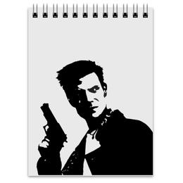 "Блокнот ""Max Payne"" - games, игры, max payne, макс пейн"