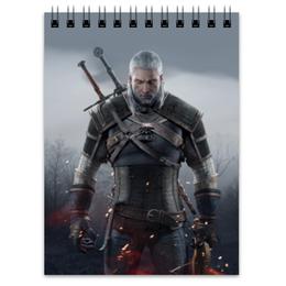 """Блокнот """"Ведьмак"""" - игры, ведьмак, witcher, геймерские, для геймеров"""
