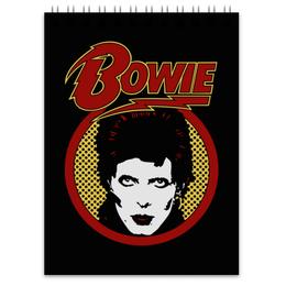 """Блокнот """"Дэвид Боуи"""" - музыка, арт, дэвид боуи, david bowie, bowie"""