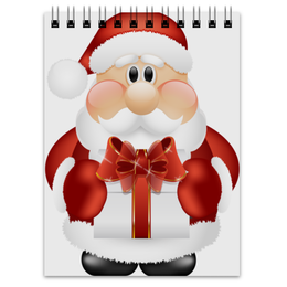"""Блокнот """"Дед Мороз"""" - праздник, новый год, дед мороз, санта клаус, под"""