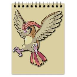 "Блокнот ""Пиджеотто"" - нинтендо, pokemon go, покемон го, пиджи, pidgeotto"