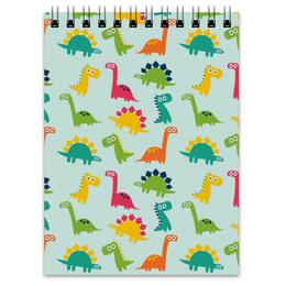 """Блокнот """"Динозаврики"""" - животные, детский, динозавры"""