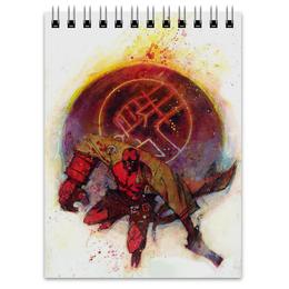 "Блокнот ""Хеллбой"" - комиксы, демон, hellboy, dark horse comics"