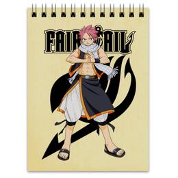 "Блокнот ""Fairy Tail. Нацу"" - аниме, манга, fairy tail, хвост феи, нацу"