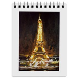 "Блокнот ""Париж"" - шоколад, париж, paris, эйфелева башня"