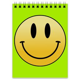 """Блокнот """"Smile"""" - смайл, smile, смайлик, smiley"""