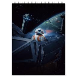 "Блокнот ""Star Wars"" - фантастика, star wars, звездные воины, империя, джедай"