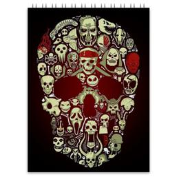 """Блокнот """"Skull Art"""" - skull, череп, арт, черепа, skulls"""