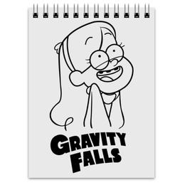 """Блокнот """"Мэйбл Пайнс"""" - мультфильм, gravity falls, гравити фолз, мэйбл пайнс"""