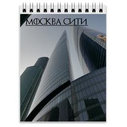 """Блокнот """"Москва Сити"""" - город, москва сити"""